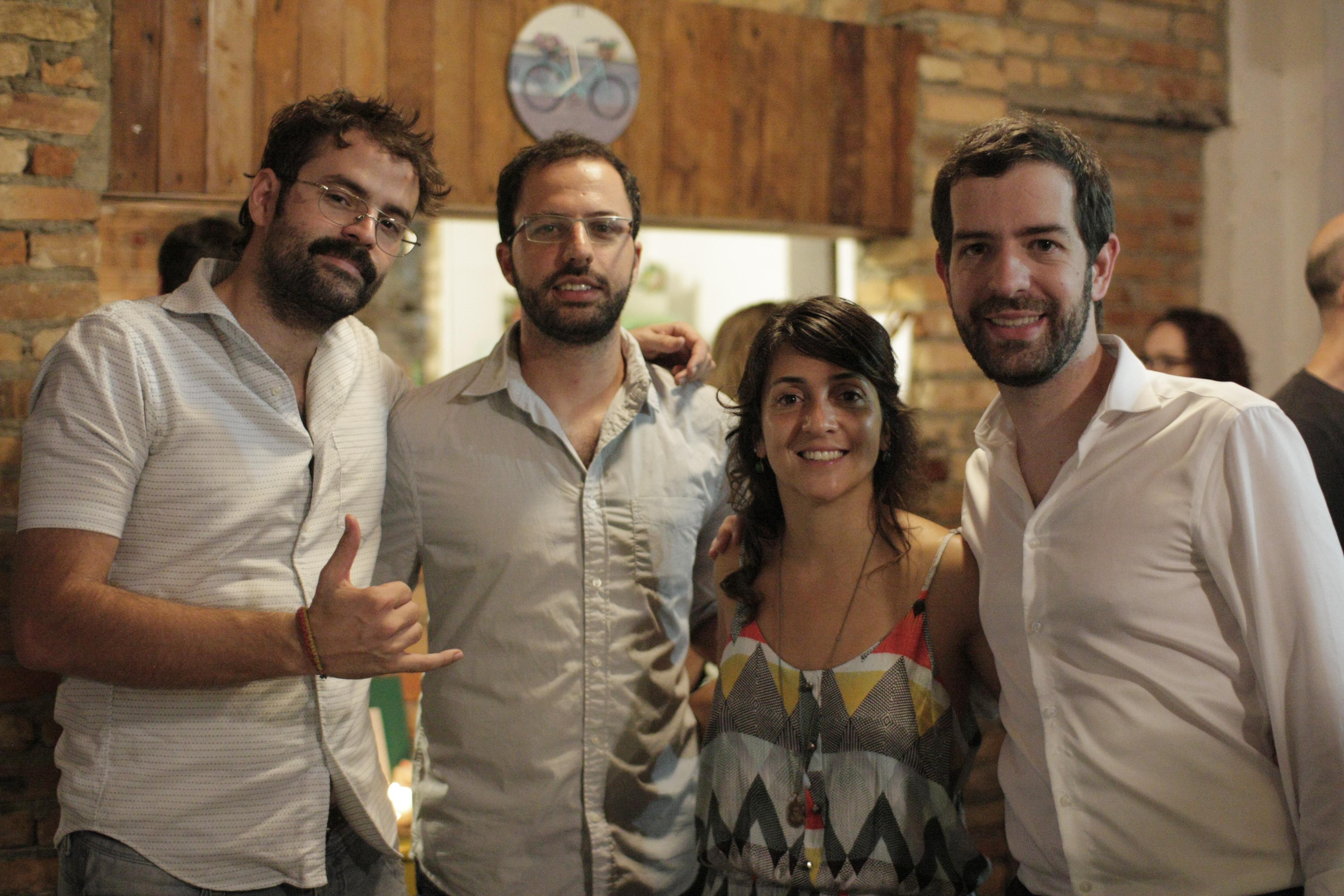 Tadeu Breda, João Peres, Bianca Oliveira, Leonardo Garzaro.
