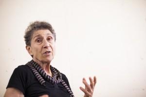 Silvia Federici durante entrevista.