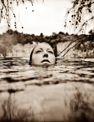 © Neil Craver woman underwater
